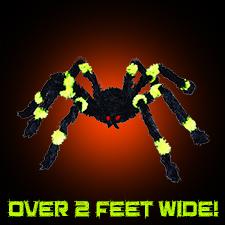 Green/Black Spider - Small