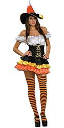 CANDY CORN CUTIE SATIN - Halloween Costumes