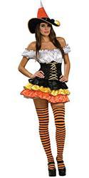 CANDY CORN CUTIE SATIN - Halloween Costumes