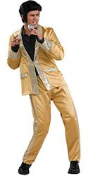GOLD SATIN ELVIS - Halloween Costumes