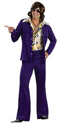 LEISURE SUIT PURPLE - Halloween Costumes
