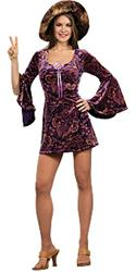 60'S GIRL PURPLE - Halloween Costumes