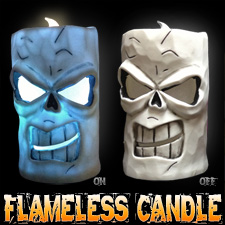 LED Flameless Candle - Skull