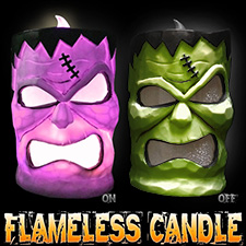 LED Flameless Candle - Frankenstein