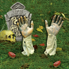 Gruesome Grounbreaker Arm Props - Halloween Decorations