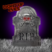 "22"" Lighted Tombstone - R.I.P."