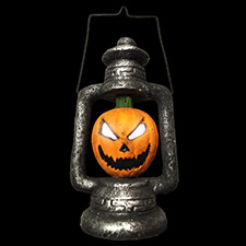 Pumpkin Lantern Light Up