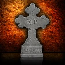 Cross Tombstone - R.I.P Stone