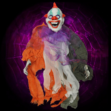 "24"" Hanging Creepy Clown"