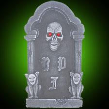 "Skull Tombstone 18"""
