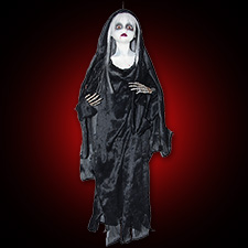 Bloody Doll Black Cloak