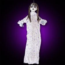 Bloody Doll White PJs