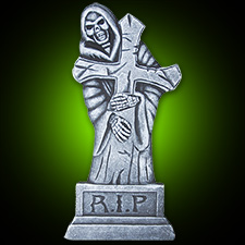 24in Reaper with Cross Tombstone