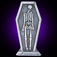 24in Skeleton Tombstone
