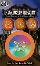 Color Changing Pumpkin Light