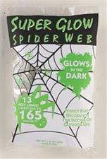 Super Glow White Spider Webs