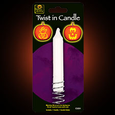 Twist In Candle