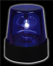"7"" Blue Police Beacon Light"