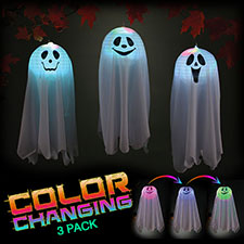 Pop Open Color Changing Ghosts
