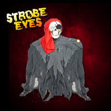 "24"" Hanging Pirate - Strobe Eyes"