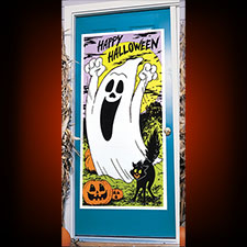 Friendly Ghost Door Cover