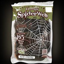 Super Stretch Creepy Spider Web