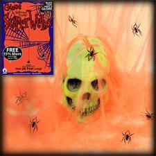 Giant Super Web - Orange Glow