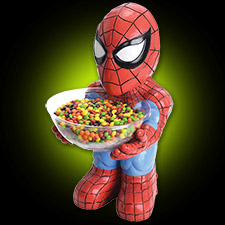 Spider Man Candy Holder