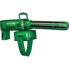 Green Lantern Inflatable Gatlin Gun