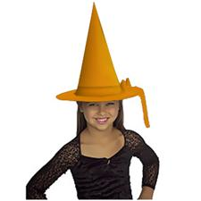 Witch Hat - Child - Orange