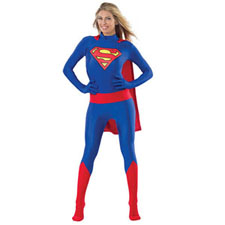 Superman / Supergirl Zentai