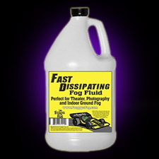 Fast Dissipating Fog - Stage &amp; Studio Fog Fluid - 1 Gallon
