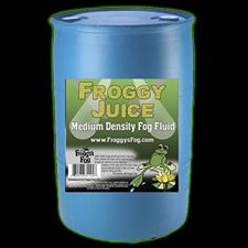 Froggy Juice - Pro Fog Fluid - 55 Gallons - Free Shipping!