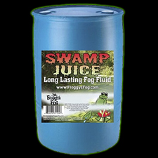 Swamp Juice - Extreme Long Lasting Fog Fluid - 55 Gallons - Free Shipping!
