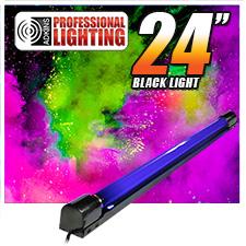 24 Inch Blacklight Bright Black Light