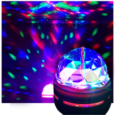 Led Moon Flower Effect Disco Party Bulb Light